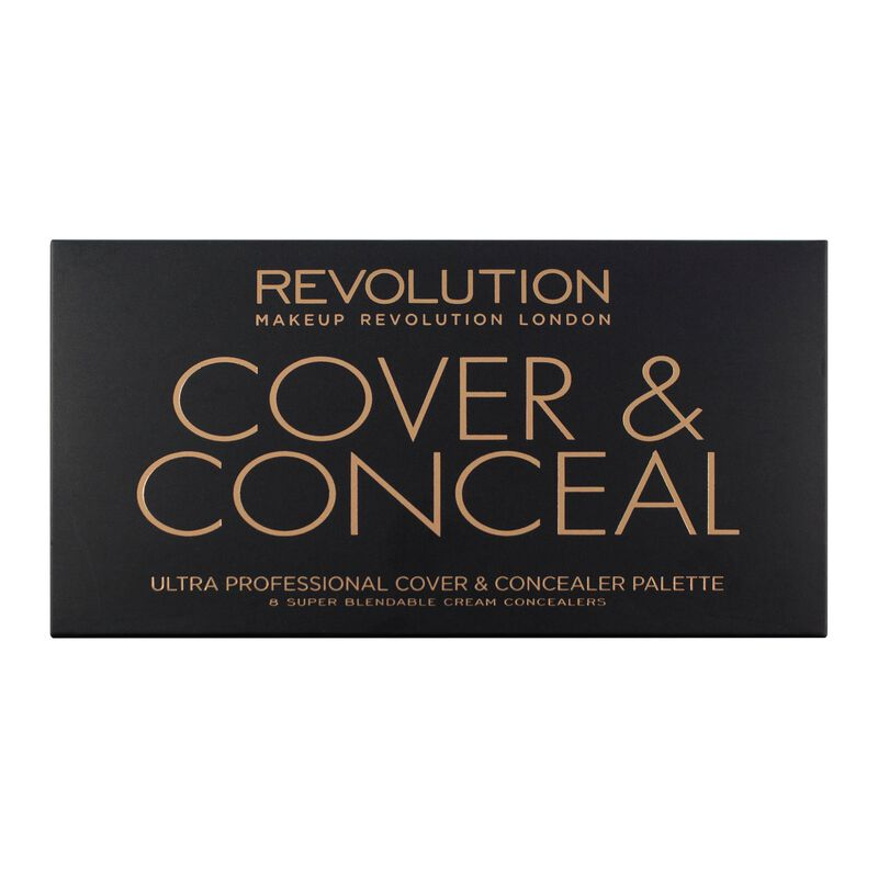 Ultra Cover and Conceal Palette - Light Medium