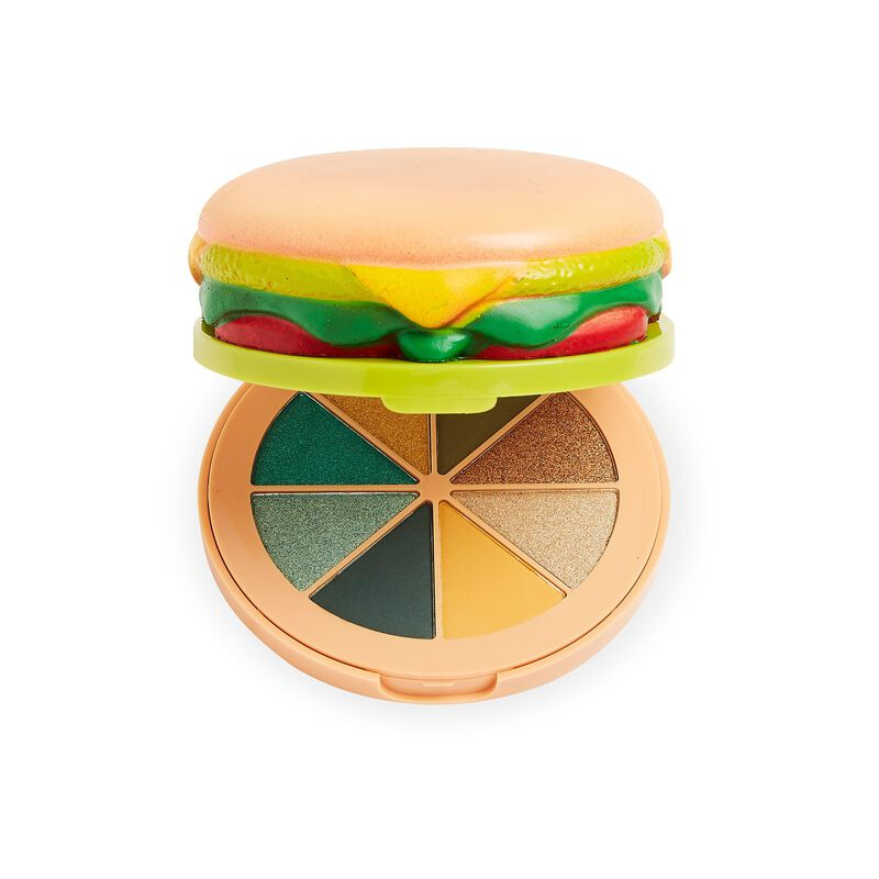 I Heart Revolution Vegan Burger Eyeshadow Palette