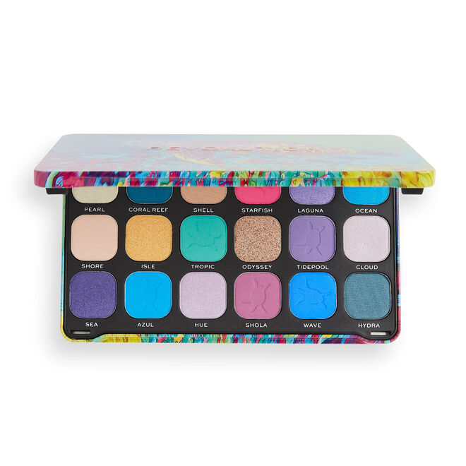 Makeup Revolution Forever Flawless Hydra Turtle Eyeshadow Palette