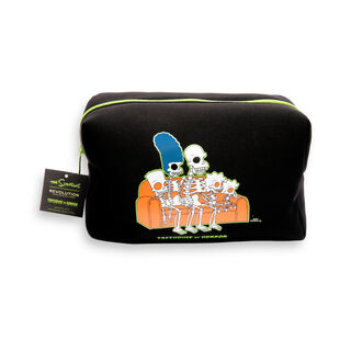 The Simpsons Makeup Revolution Treehouse of Horror Couch Makeup Bag