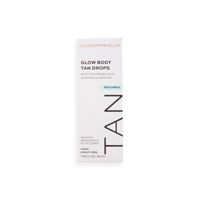 Makeup Revolution Glow Illuminating Hyaluronic Body Tan Drops