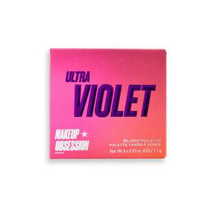 Makeup Obsession Blush Crush Palette Ultra Violet