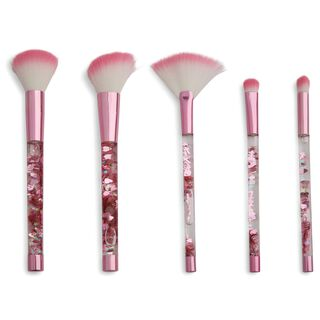 One True Love Pink Fantasy Glitter Brush Set