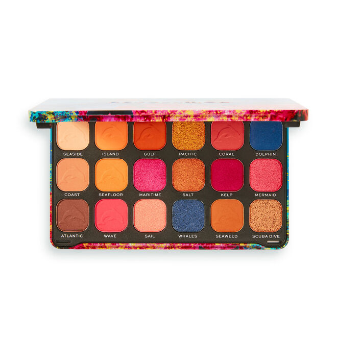 Makeup Revolution Forever Flawless Hydra Dolphin Eyeshadow Palette