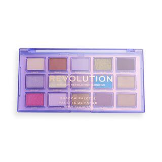 Makeup Revolution Reflective Eyeshadow Palette Ultra Violet