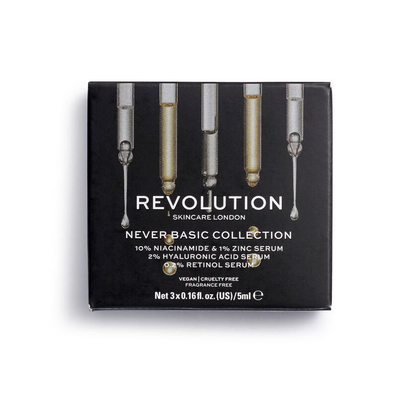 Revolution Skincare Starter Pack Never Basic Collection