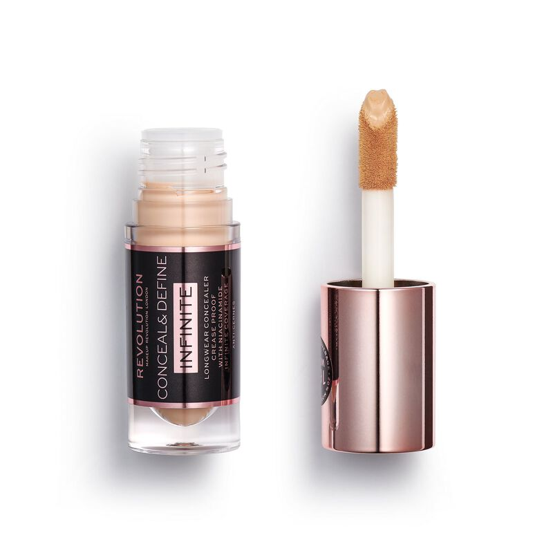 Makeup Revolution Conceal & Define Infinite Longwear Concealer (5ml) C8.2