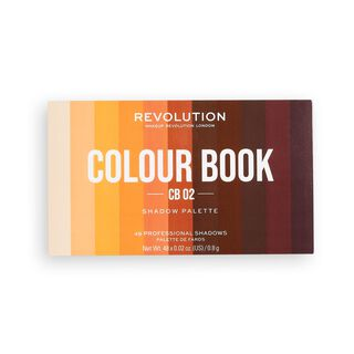 Makeup Revolution Colour Book CB02 Shadow Palette