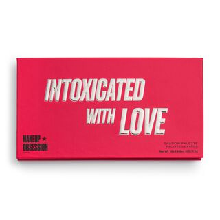 Makeup Obsession Intoxicated By Love Eyeshadow Palette