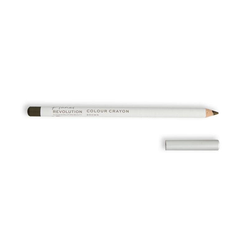 Planet Revolution Multi-Use Colour Crayon Brown