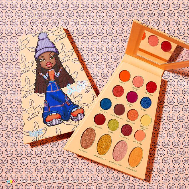 Makeup Revolution x Bratz Doll Eyeshadow Palette Sasha