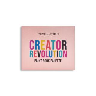 Creator Revolution Face Paint Book Palette