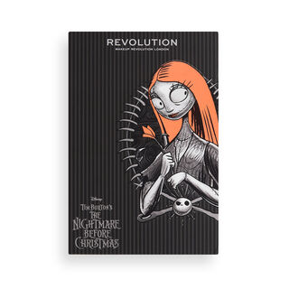 Makeup Revolution Disney Nightmare Before Christmas Eyeshadow Palette Sally