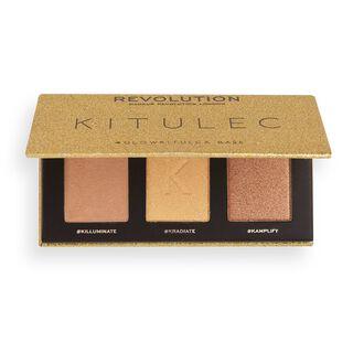 Revolution X Kitulec Highlighter Palette Glow Kit