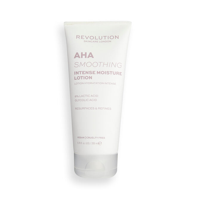 Revolution Skincare 8% Lactic Acid AHA Smoothing Intense Moisture Lotion