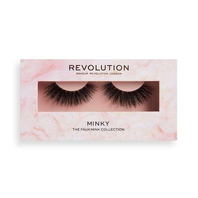 Makeup Revolution 3D Faux Mink Lashes Minky