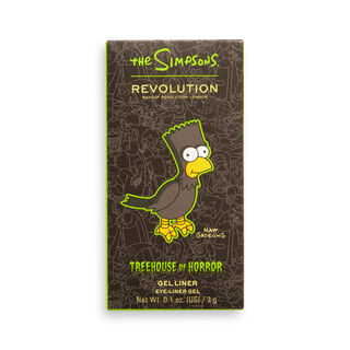 "The Simpsons Makeup Revolution Gruesome Gel Liner ""The Raven Bart"""