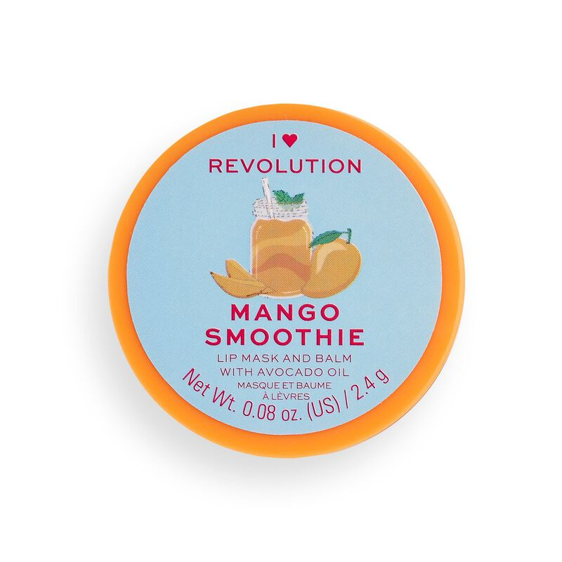 I Heart Revolution Lip Mask & Balm Mango Smoothie