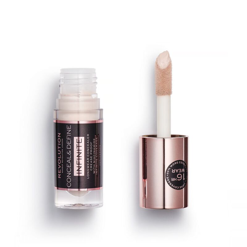 Makeup Revolution Conceal & Define Infinite Longwear Concealer (5ml) C0.5