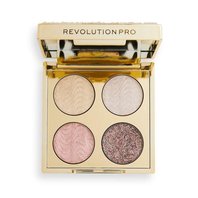 Revolution Pro Eyeshadow Palette Quad Champagne Crystal