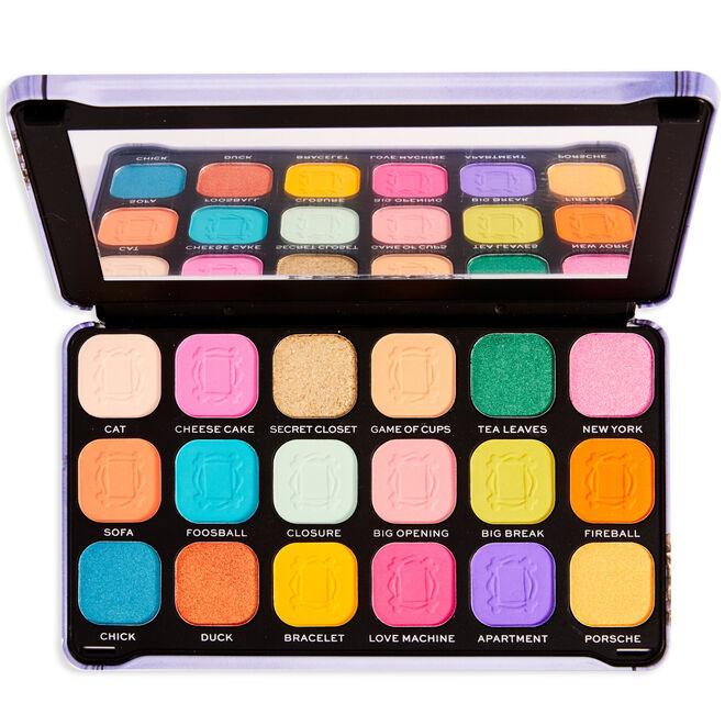 Friends X Makeup Revolution Forever Flawless We Were On A Break Eyeshadow Palette