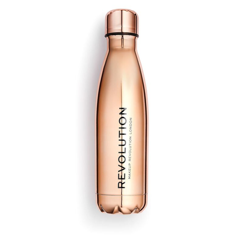 Water Bottle Rose Gold Finish