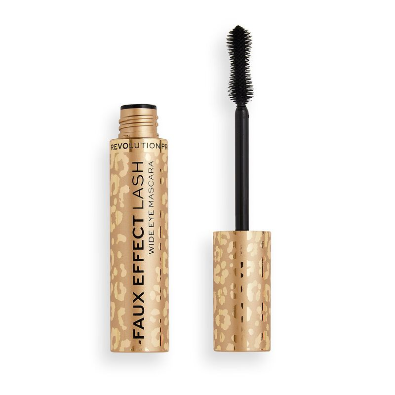 Revolution Pro Faux Effect Lash Wide Eye Mascara Black
