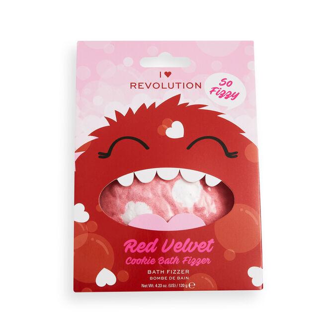 I Heart Revolution Red Velvet Cookie Bath Fizzer