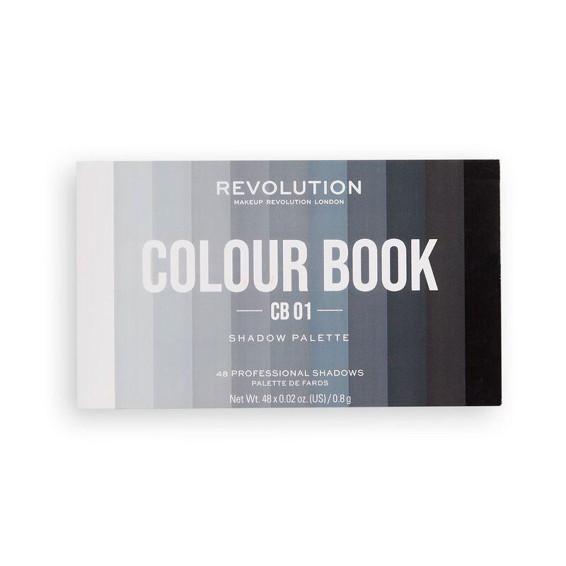 Colour Book Shadow Palette CB01