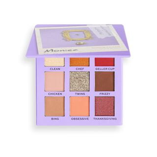 Makeup Revolution X Friends Monica Eyeshadow Palette
