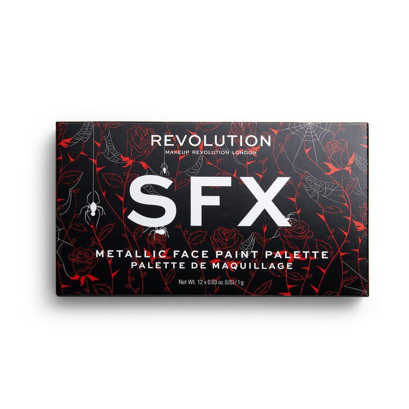 Revolution Halloween Metallic Face Paint Palette