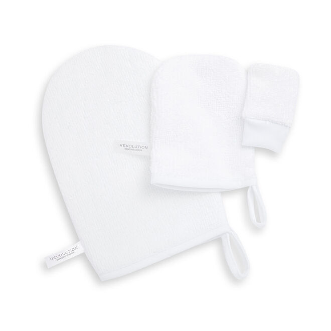 Revolution Skincare Reusable Soft Cleansing Mitts