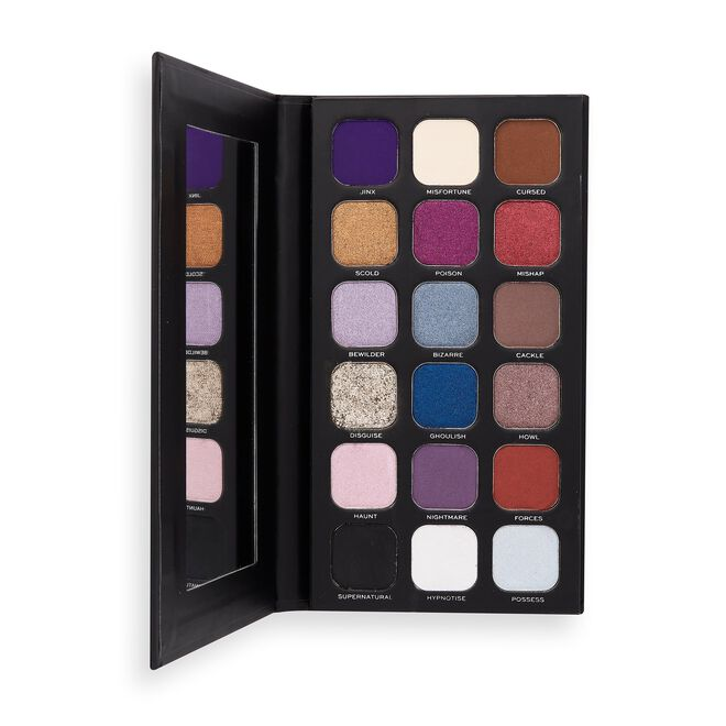I Heart Revolution Book of Spells Eyeshadow Palette Curses and Hexes