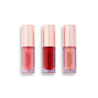 Makeup Revolution Caramel Apple Mini Pout Bomb Lip Gloss Set
