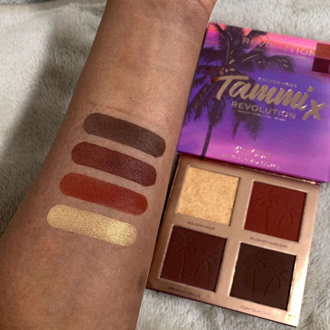 Makeup Revolution X Tammi Golden Hour Deep Dark Face Palette