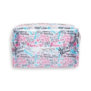 Harley Quinn™ X Makeup Revolution Puddin' Makeup Bag