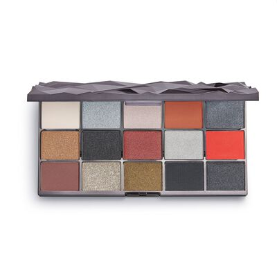 Makeup Revolution Glass Black Ice Shadow Palette