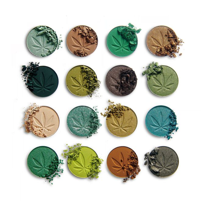 Makeup Obsession So Dope with Cannabis Sativa Eyeshadow Palette