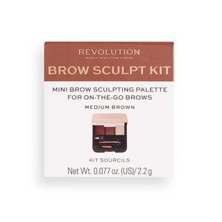 Brow Sculpt Kit Medium Brown