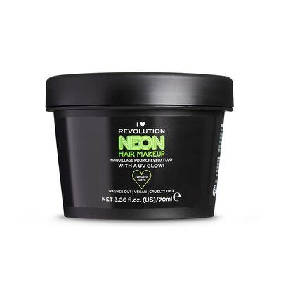 I Heart Revolution UV Neon Green Hair Make Up