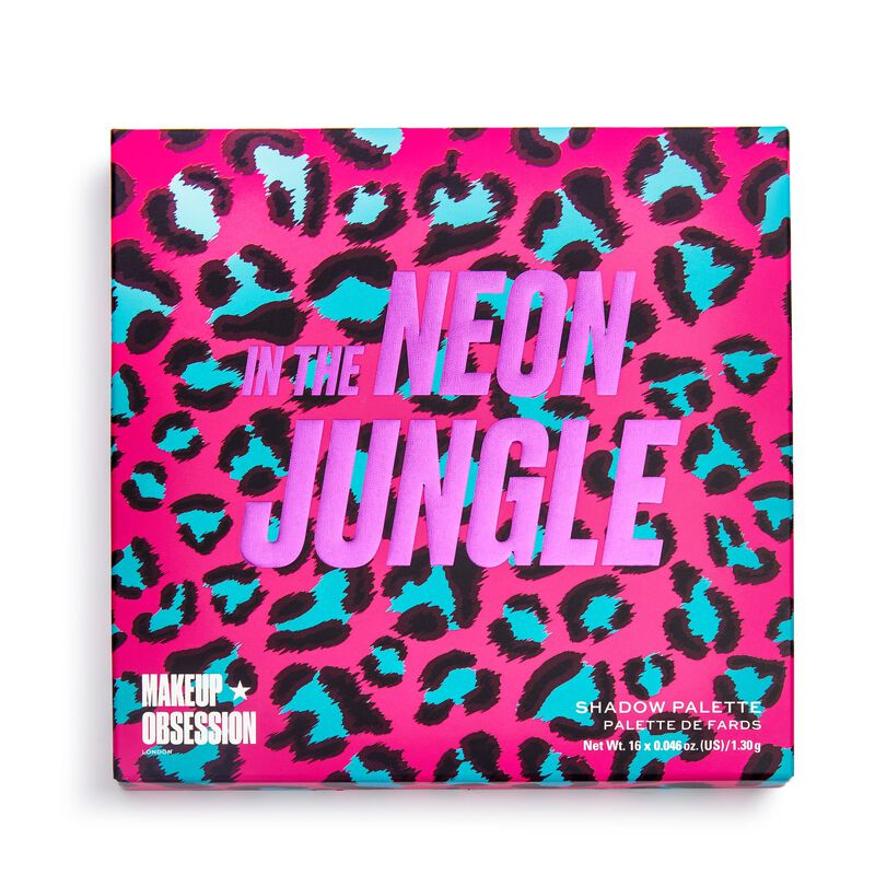 Makeup Obsession In The Neon Jungle Eyeshadow Palette