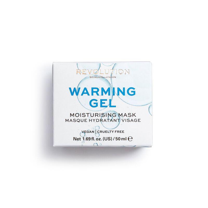 Warming Gel Moisturising Face Mask