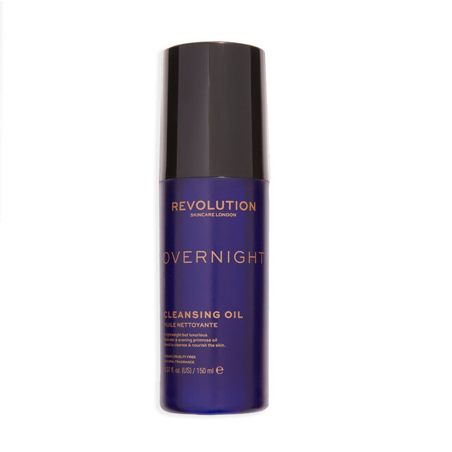 Revolution Skincare Overnight Nourishing Cleansing Oil