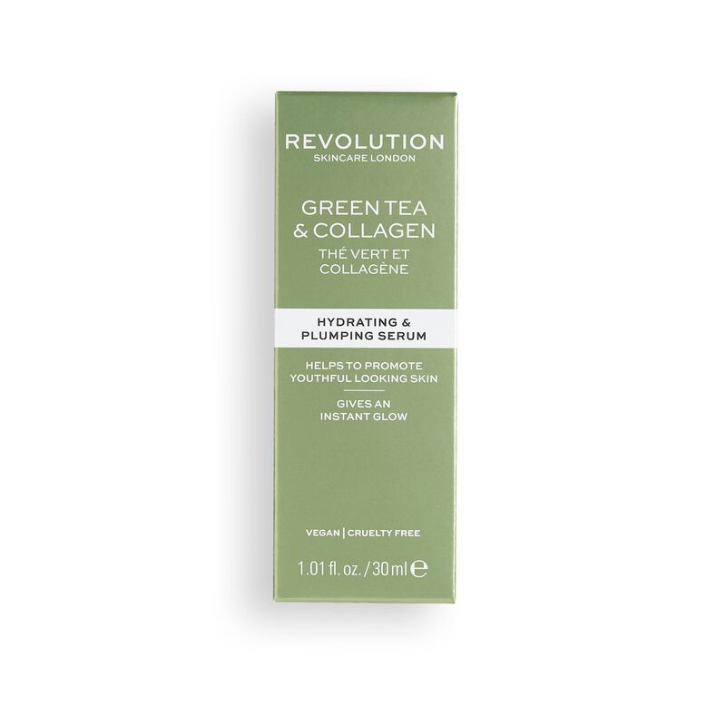Green Tea & Collagen Serum