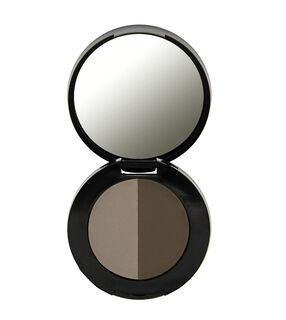 Duo Eyebrow Powder - Medium Brown