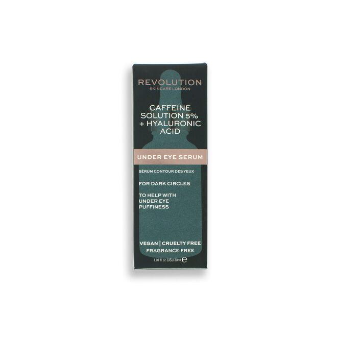 Revolution Skincare 5% Caffeine and Hyaluronic Acid Revitalising Under Eye Serum
