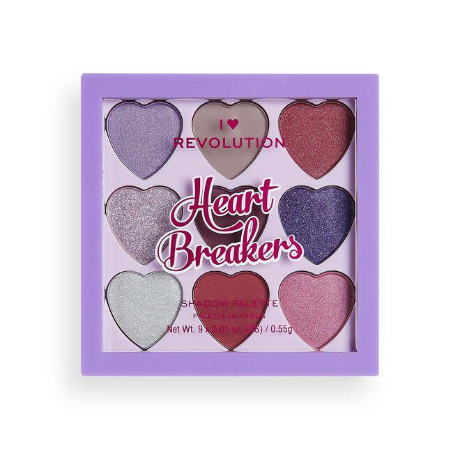 I Heart Revolution Heartbreakers Eyeshadow Palette Mystical