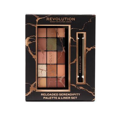 Makeup Revolution Reloaded Serendipity Palette & Liner Gift Set