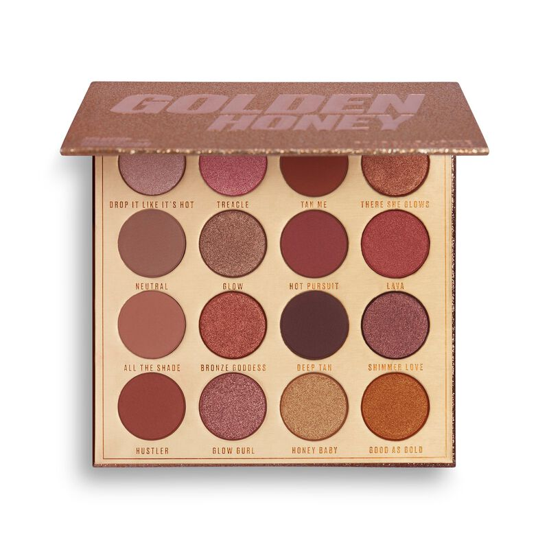 Makeup Obsession Golden Honey Eyeshadow Palette