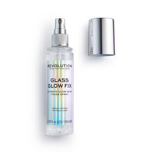 Makeup Revolution Glass Glow Fix Setting Spray